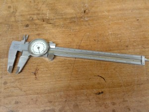 My first dial calipers. Purchased in 1969